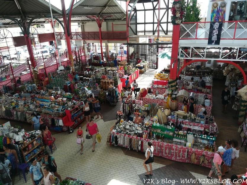 Il mercato di Papeete - Tahiti
