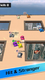 Car bumper.io – Roof Battle 2