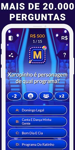 Show do Milionu00e1rio 2019 - Jogo do Milhu00e3o Online Apk 1