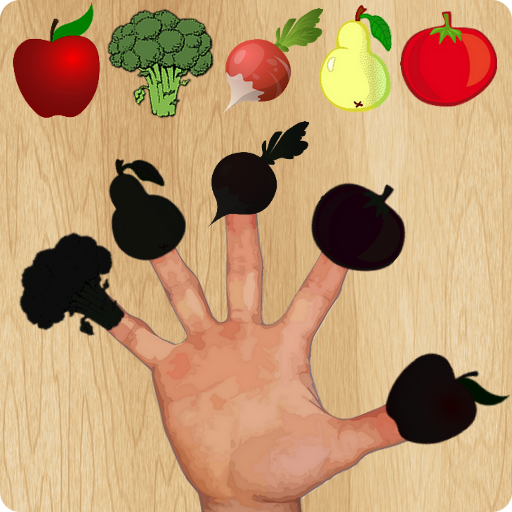 Fruit Vegetable Finger Family Puzzle Game