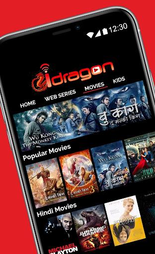 Idragon -Ultimate VOD Movies/Series APP in India.