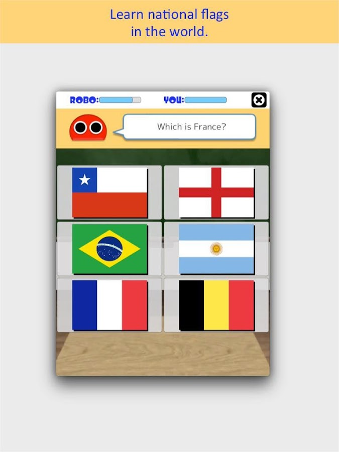 Robo Flags- screenshot