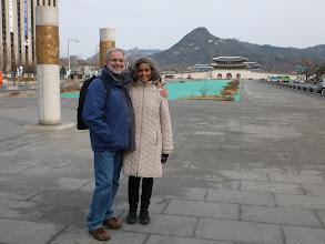 Photo: Gwanghwamun promenade in front of the palace