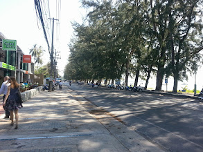 Photo: Road near The Title, Rawai district