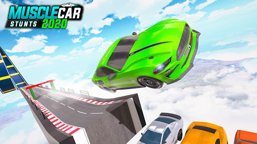 Muscle Car Stunts 2020: Mega Ramp Stunt Car Games 1.2.1 screenshots 23