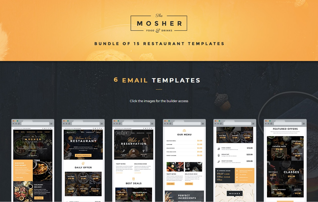 Mosher Email Template