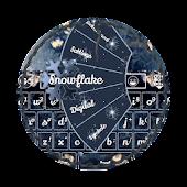 Snowflake GO Keyboard Theme