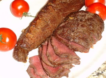 Tender Venison Loin (london Broil Style) Recipe