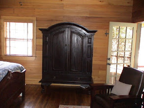 Photo: Guest cabin number one armoire