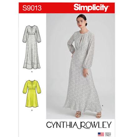 Klänning - Simplicity 9013