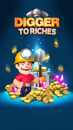 Digger To Richesuff1a Idle mining game screenshots 1