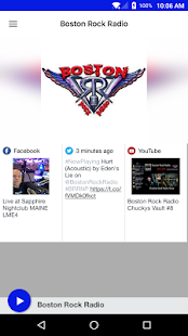 Boston Rock Radio- screenshot thumbnail