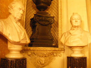 Photo: Here, a closer look at some of the items in the Gallery of Busts.