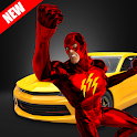 Superheroes GT Fast Car Racing Challenges 2019 icon