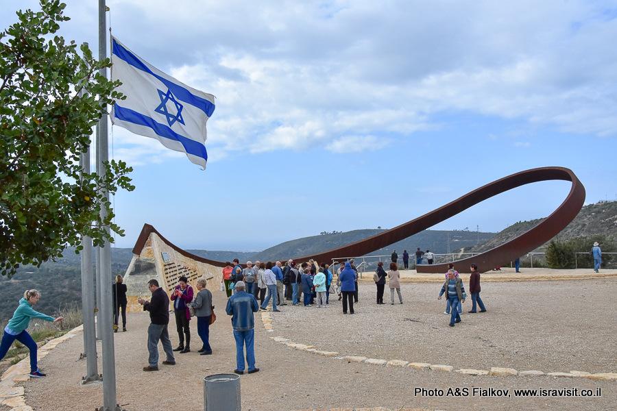 Мемориал памяти жертв лесного пожара на горе Кармель. Экскурсия гида в Израиле Светланы Фиалковой.