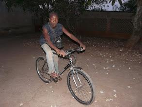 Photo: un des multiples vélos offerts par le CTM, servant surtout aux élèves pour se rendre à l'école