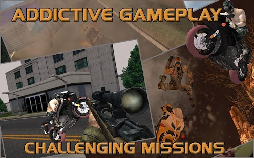 Moto-Racer-Sniper-Attack 8
