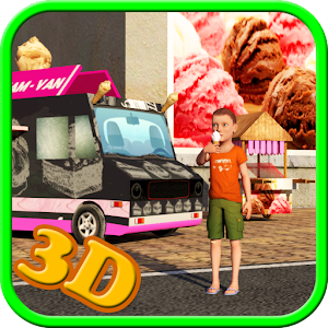 Ice Cream Delivery Van 3d for PC and MAC