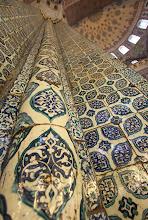 Photo: Bayazit mečetės skliautai.   The vaults of Beyazit mosque.