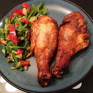 Perfectly Crispy Spice-Rubbed Oven Baked Chicken Legs