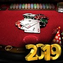 Blackjack: Experience real casino for game 21 icon