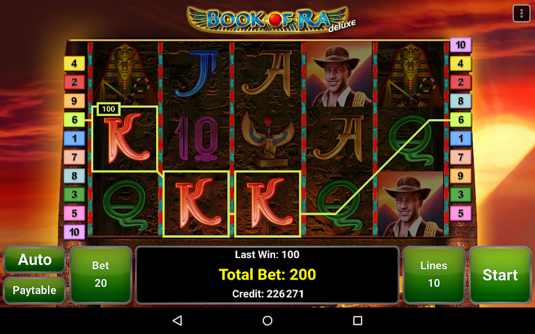 android Book of Ra™ Deluxe Slot Screenshot 6