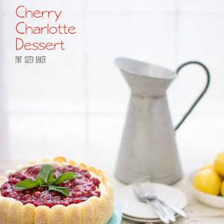 Cherry Charlotte Dessert.