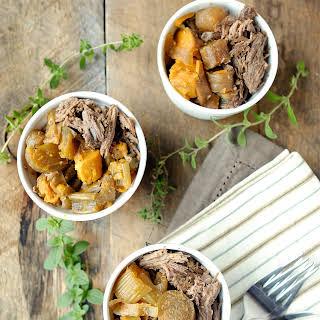 Crockpot Beef Roast and Veggies.