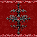 Red Gothic Cross Go Locker theme Icon