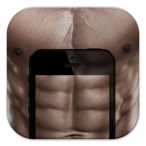 个人化の偽の腹部:6パックの腹部 LOGO-記事Game