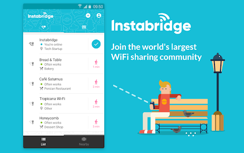 App Free WiFi Passwords and Hotspots from Instabridge APK for Windows Phone