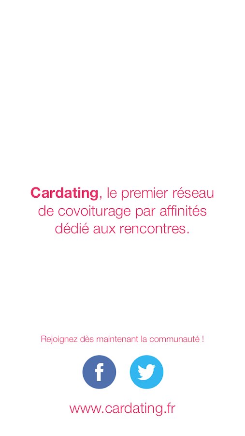 Cardating- screenshot