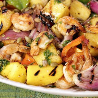 Tropical Grilled Shrimp Salad