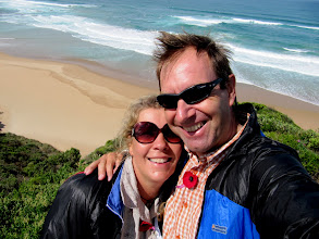 Photo: Year 2 Day 145 -  Us at Castle Cove on the Great Ocean Road #2