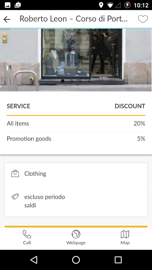 Cityguru Card- screenshot