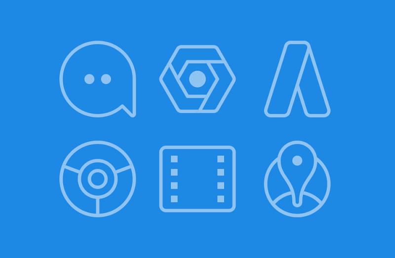 TwoPixel Light - Icon Pack Screenshot 1