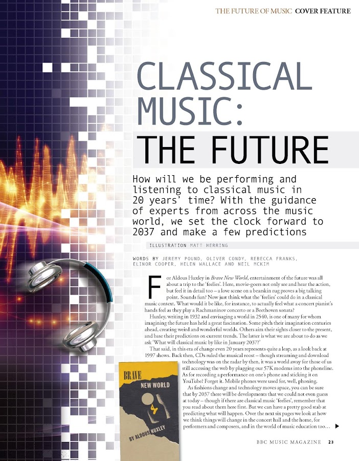 BBC Music Magazine- screenshot