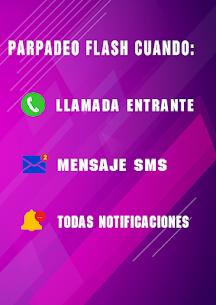 Parpadeo Flash para llamadas & mensajes - Flash 3