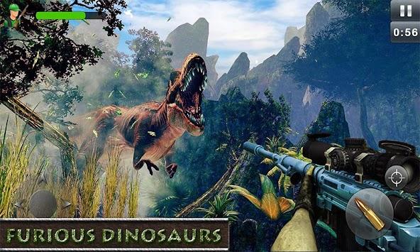 Jungle Dinosaur Shooting Games-Free Simulator 2018
