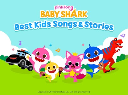 Baby Shark Best Kids Songs & Stories App Download For Android and iPhone 1
