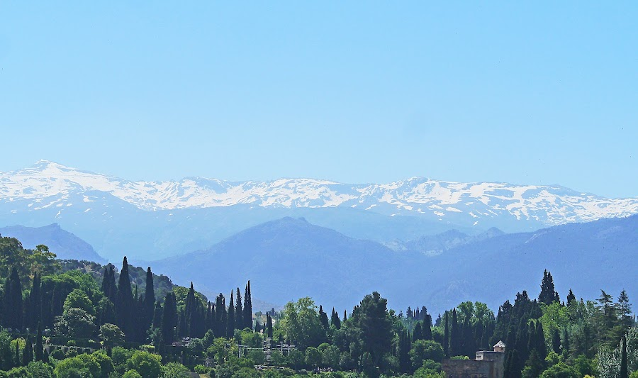 Sierra Nevada Paysage by Joatan Berbel - Landscapes Mountains & Hills ( spain, mountains, granada, andalucia, park scene, paysage, vista, colorful )