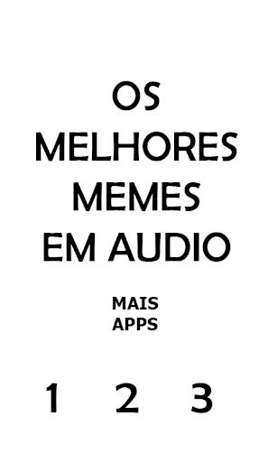 Memes em u00c1udio - APP oficial 1.0.0 screenshots 1