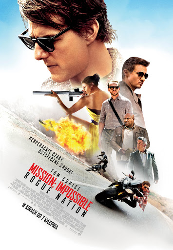 Polski plakat filmu 'Mission: Impossible - Rogue Nation'