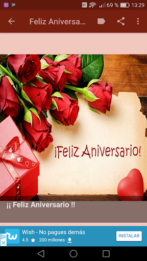 Tarjetas De Feliz Aniversario Apps On Google Play