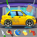 Car Wash Salon Workshop Station icon