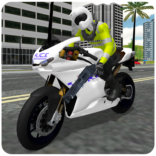 Police Bike Chase City Driving (game)