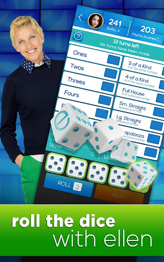 Dice with Ellen - screenshot