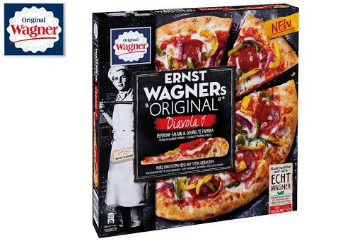 """Bild für Cashback-Angebot: ERNST WAGNERs """"ORIGINAL"""" Pizza Diavola - Wagner"""
