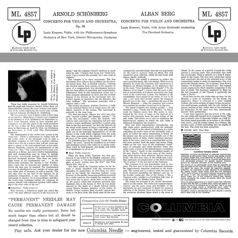 Arnold Schönberg, Alban Berg