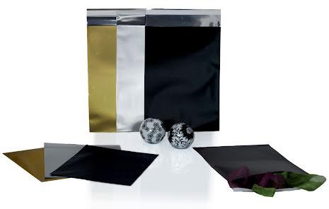 Foliepåse CD Peel & Seal Matt Svart